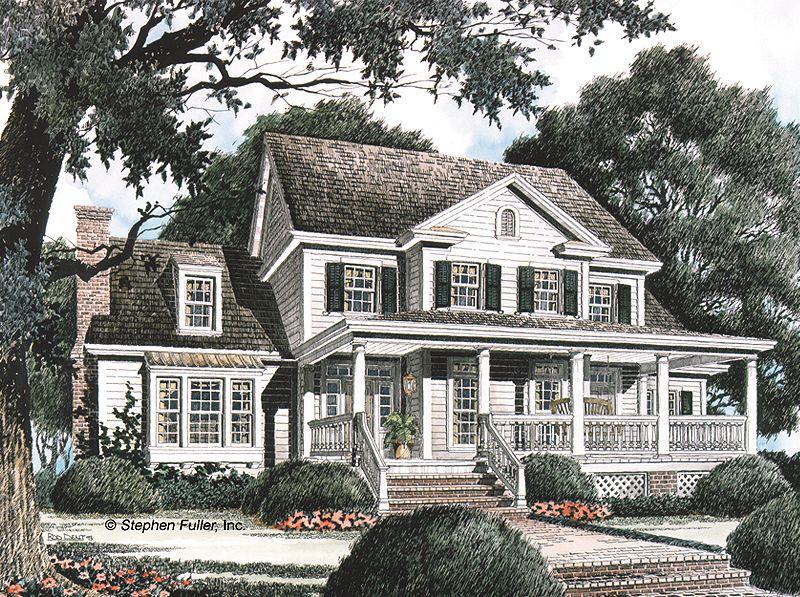 424 Somerville Stephen Fuller House Plans Farmhouse Floor Plans Dream House Plans