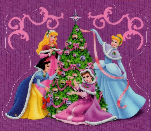 Princess Christmas Tree Disney Christmas Disney Merry Christmas Disney Holiday