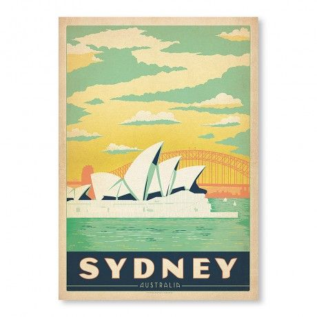 Sydney Poster Print