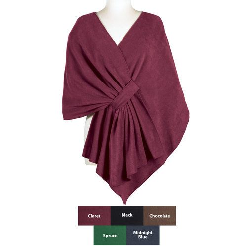 Home Living Easy To Make Fleece Shawls Step By Step Instructions