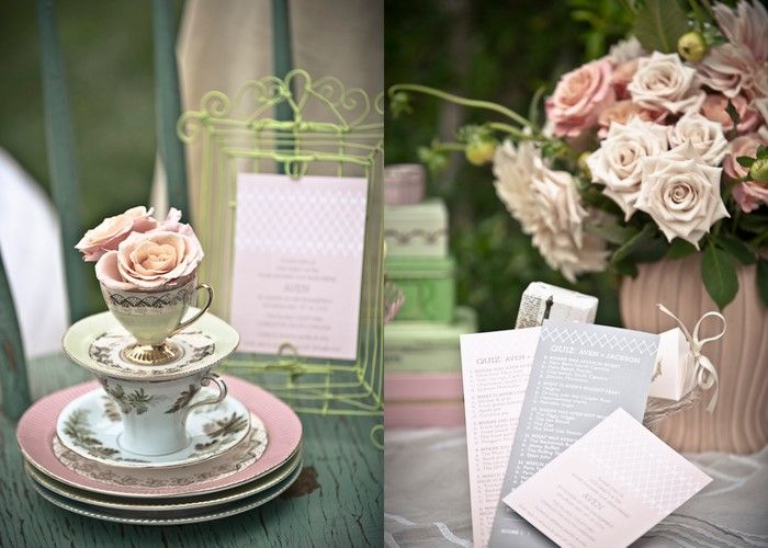 Pretty Tea Party Bridal Shower Inspiration