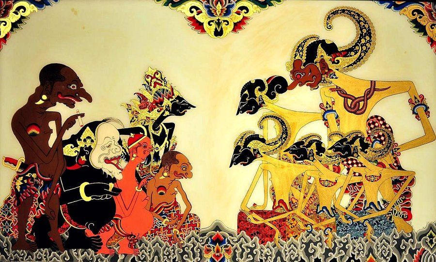 orang cerdas smart people mengenal tokoh wayang kulit pandawa shadow puppets beautiful wallpapers wallpaper pinterest