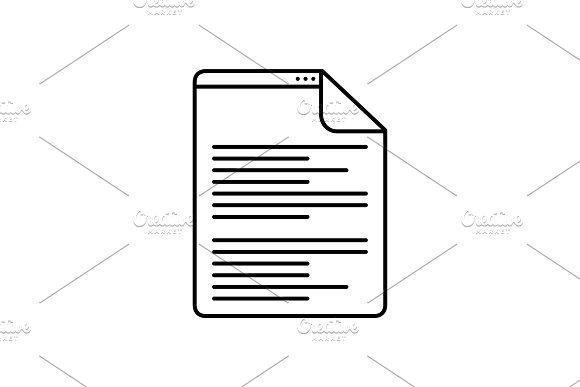 Scenarios script icon by Creativepriyanka scenarios