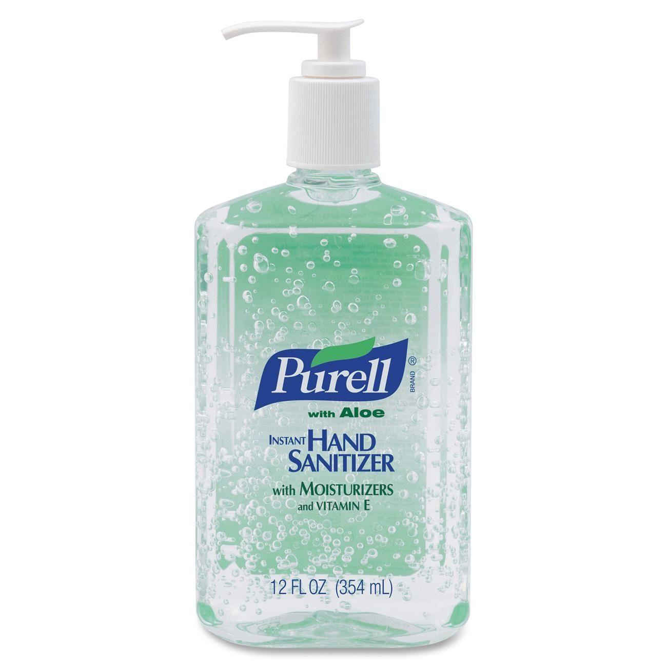 Purell Instant Hand Sanitizer W Aloe Item Goj363912 Instant