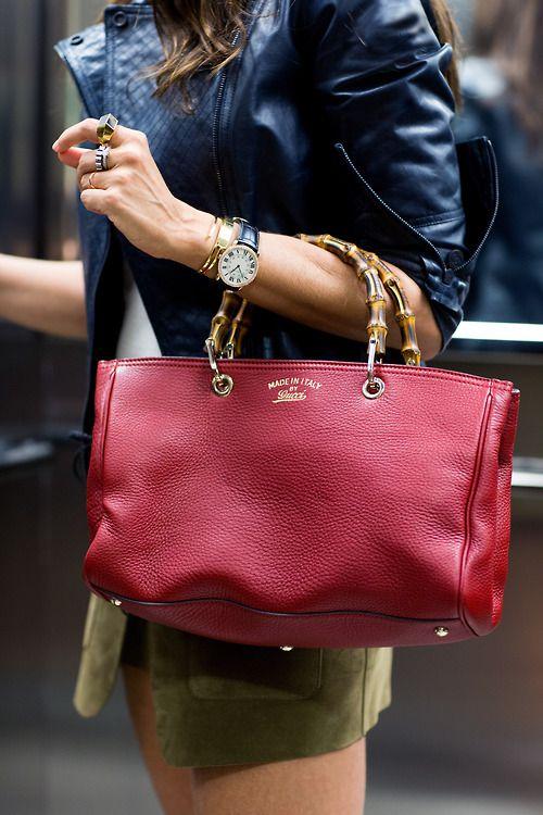 bamboo gucci bag handbag bolso complementos fashion love. Black Bedroom Furniture Sets. Home Design Ideas