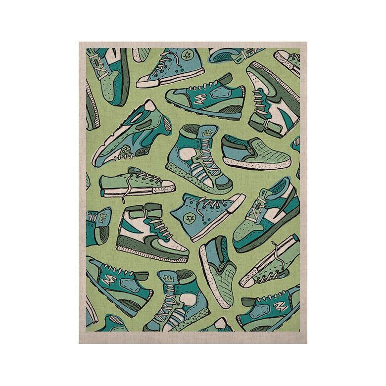 """Brienne Jepkema """"Sneaker Lover I"""" KESS Naturals Canvas (Frame not Included)"""