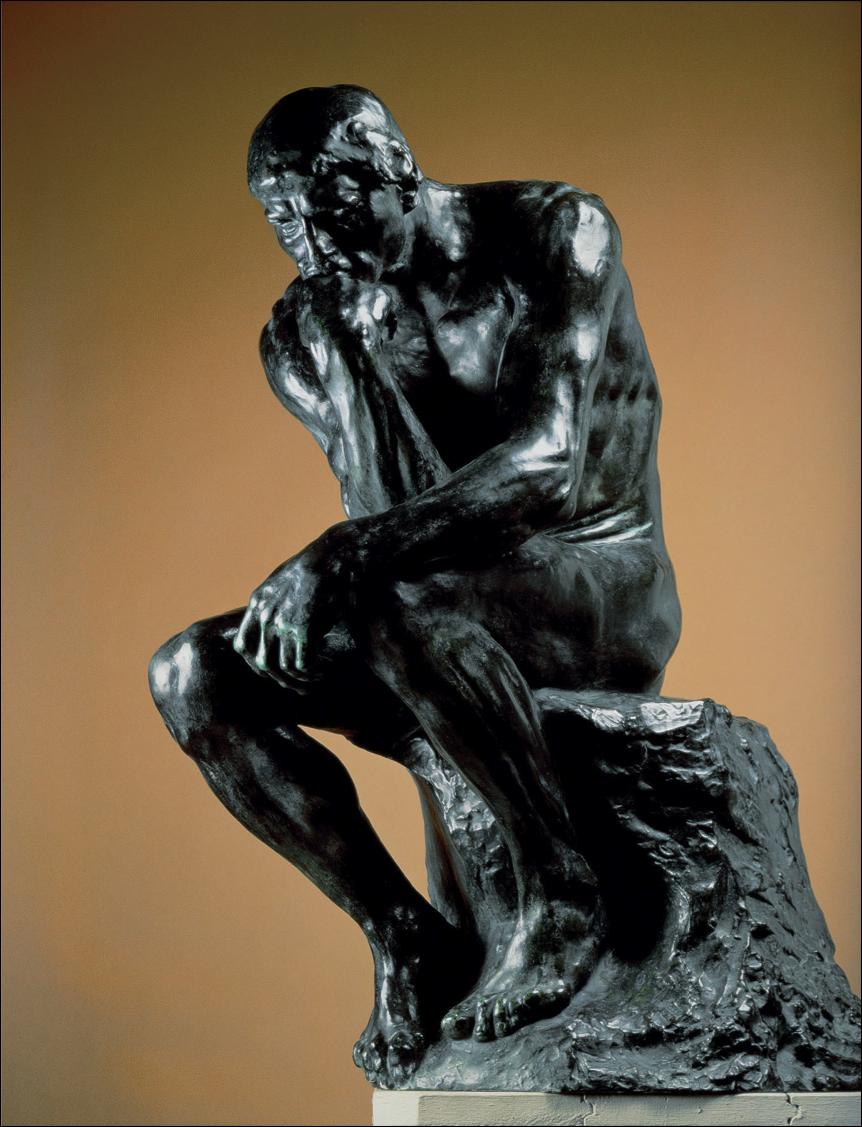 Auguste Rodin The Thinker 1879 87 Heykel