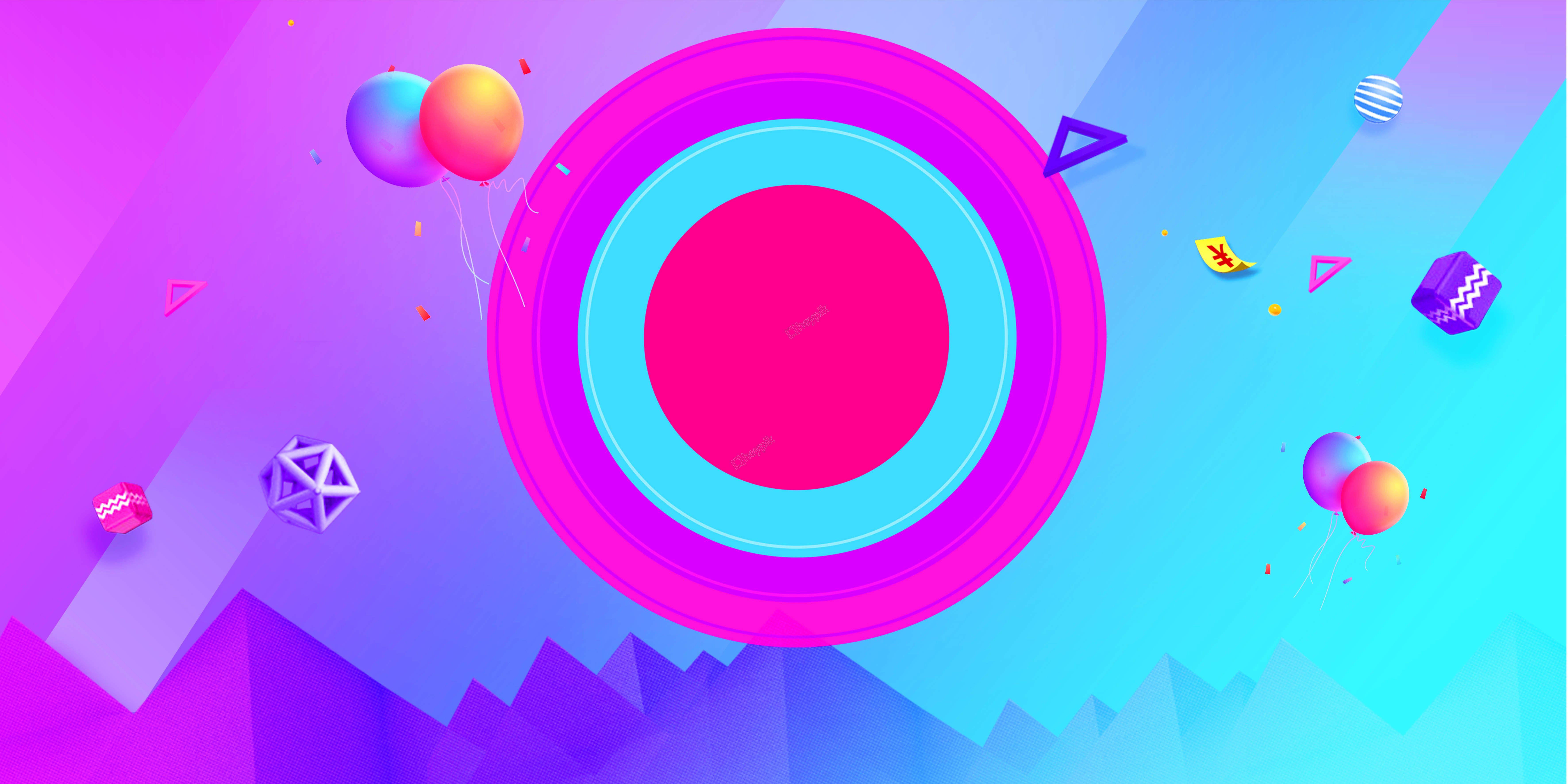 أزرق فاتح اللون لون الكرة دائرة التدرج ناقلات الخلفية Color Blue Graphic
