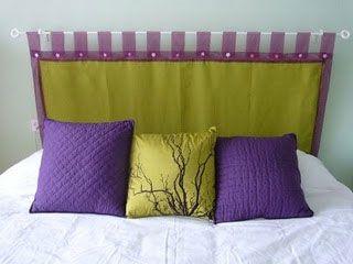resultado de imagen para cabeceras de cama con laterales de cuna - Como Hacer Un Cabecero De Tela