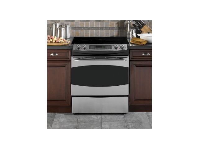Ge Electric Double Oven Range Reviews General Profile Ps905 30 Slide In With 4