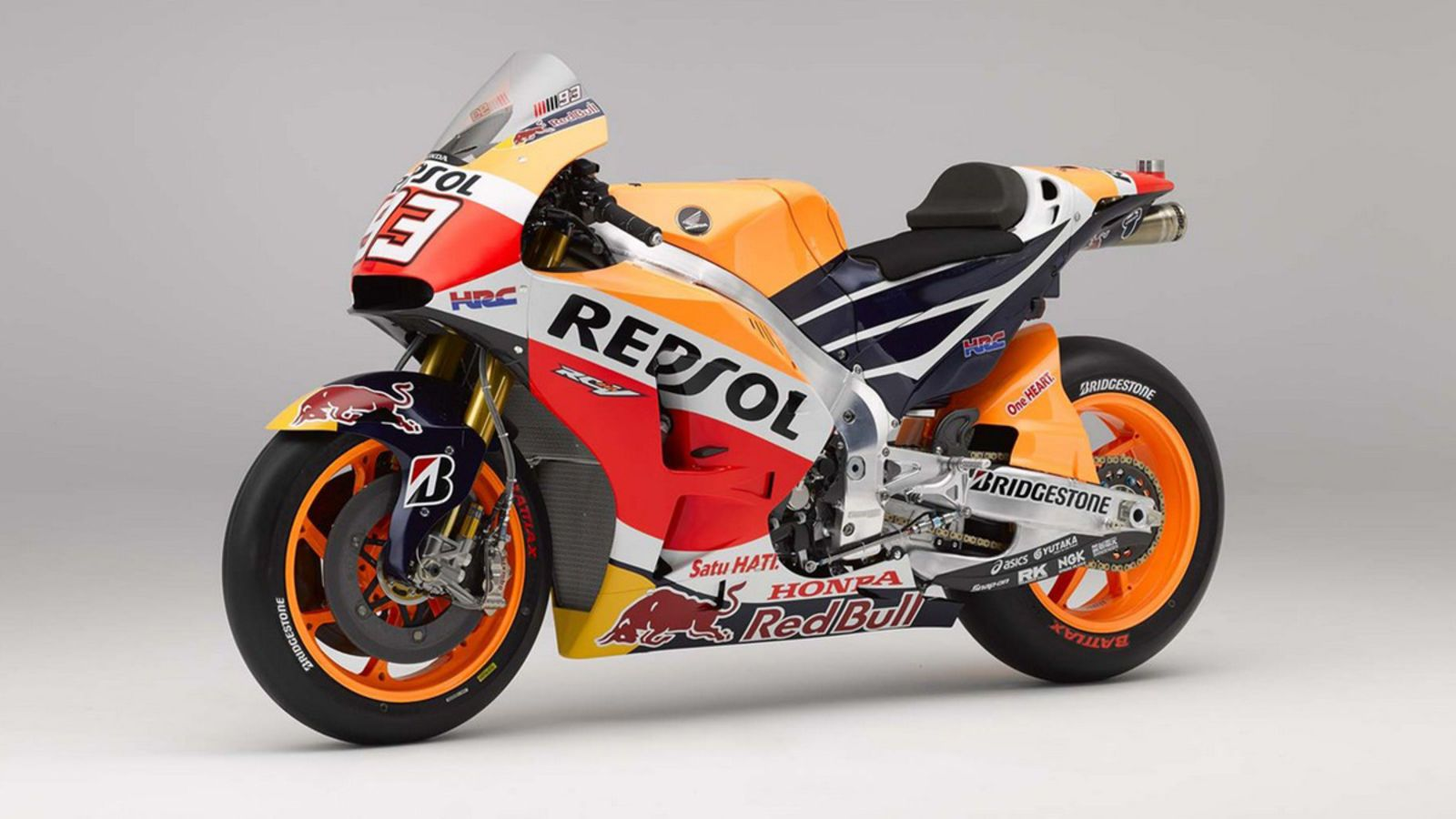 Honda Respol Marc Marquez 2015 #93 Moto GP 1:12 Model 57753 NEW RAY