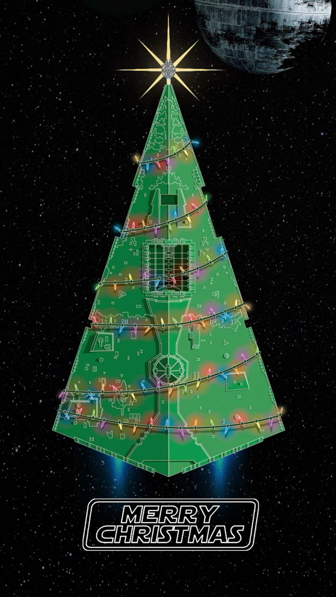 Have A Merry Star Wars Christmas Video Star Wars Christmas Star Wars Wallpaper Star Wars Pictures
