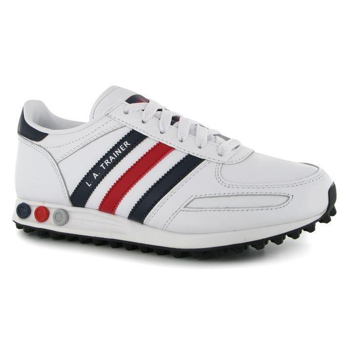 Mens Adidas Trainers LA Trainer Leather
