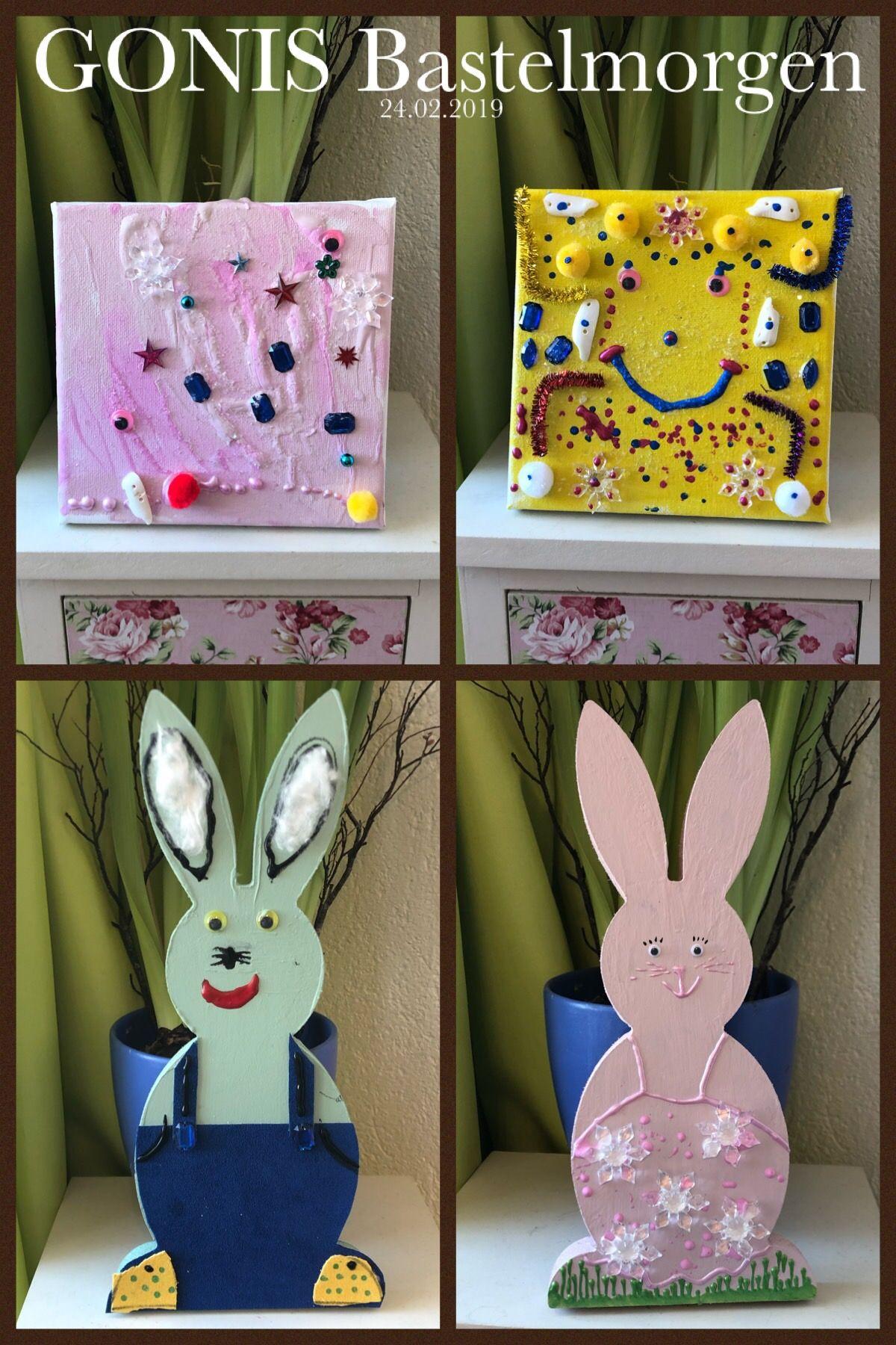 Gonis Ostern Easter Hasen Rabbits Gonis Basteln Ostern