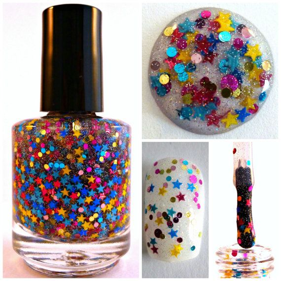 Lucky Star Indie Handmade Nail Polish 5Free Custom by SuperNails ...