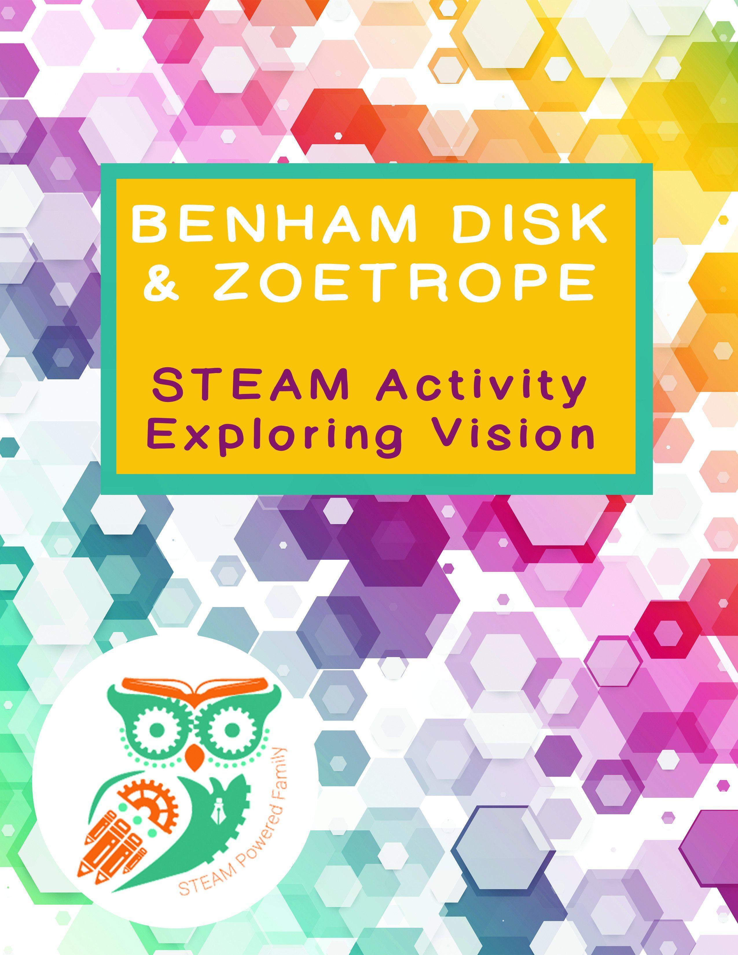 Benham Disk And Zoetrope