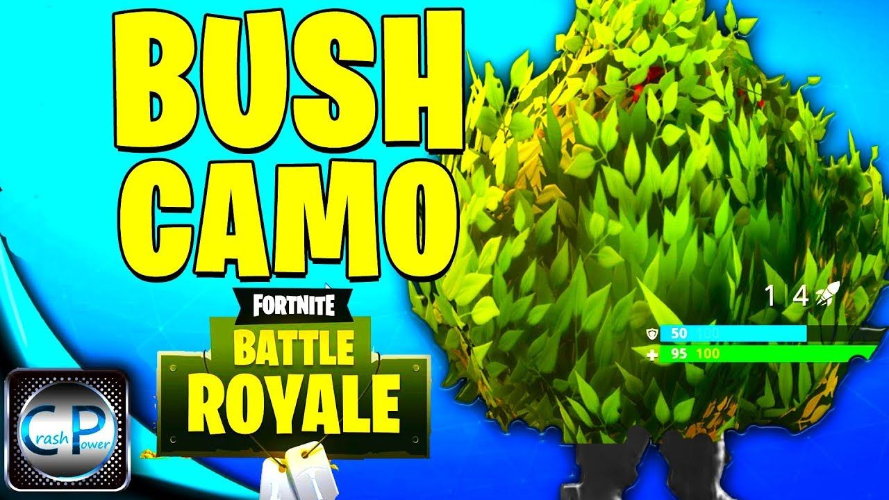 How To Get Legendary Bush Camo In Fortnite Battle Royale Gameplay