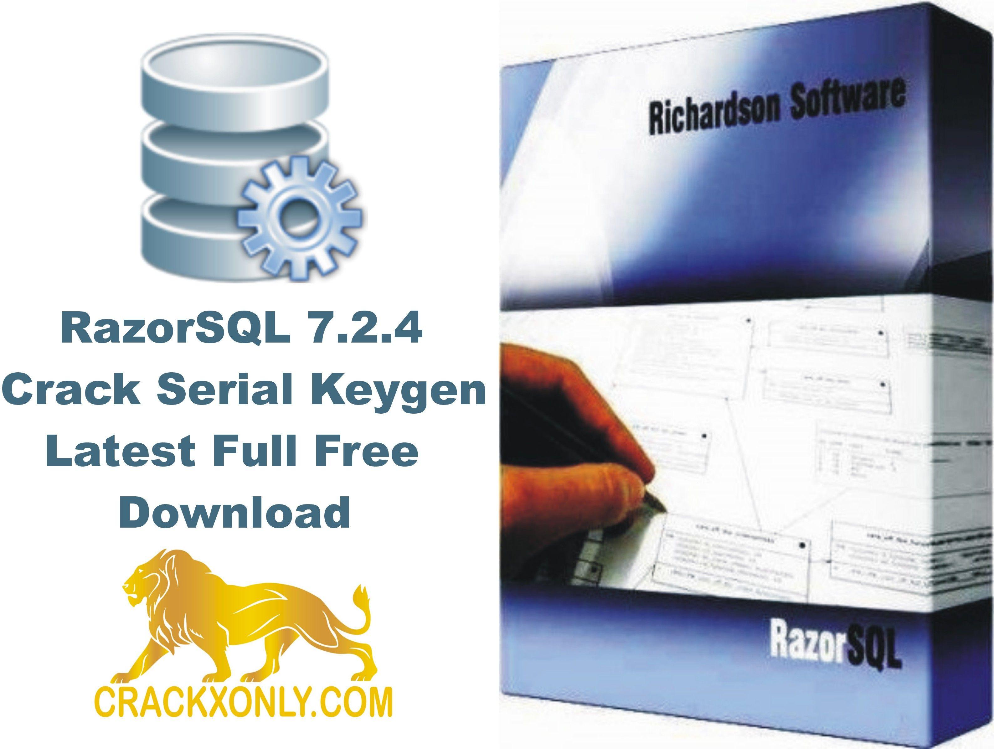 RazorSQL 7.2.4 Crack Serial Keygen Latest Full Free ...