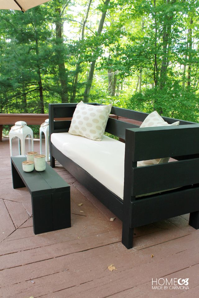 How To Build DIY Outdoor Furniture