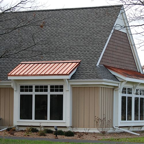 Image Result For Shingle Roof With Metal Accent New