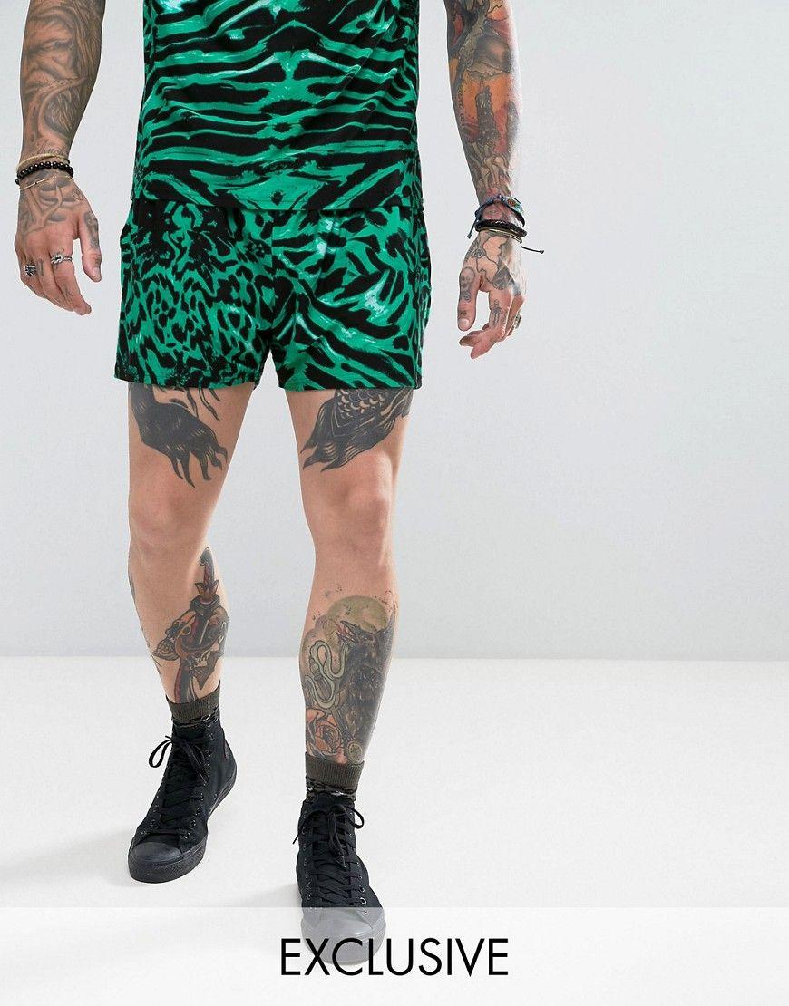 Reclaimed Vintage Inspired Shorts - Black