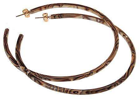 48 L Erickson Skinny Jumbo Hoop Earrings Other Color Choices
