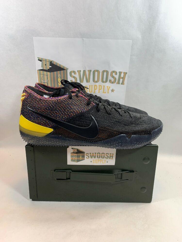 size 40 9b3cd 86861 Nike Kobe AD NXT 360 Bryant MultiColor Black Mamba Men Basketball  AQ1087-002 14