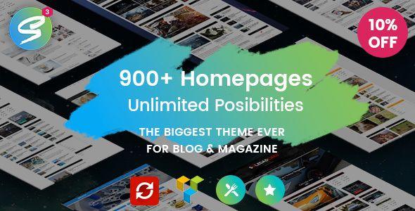 Soledad - Multi-Concept Blog/Magazine WP Theme - Personal Blog / Magazine