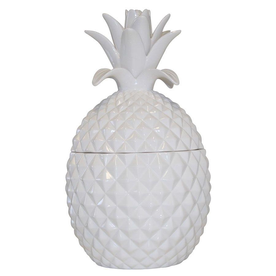 White Ceramic Pinele Jar Large In 2019 Monochrome Style