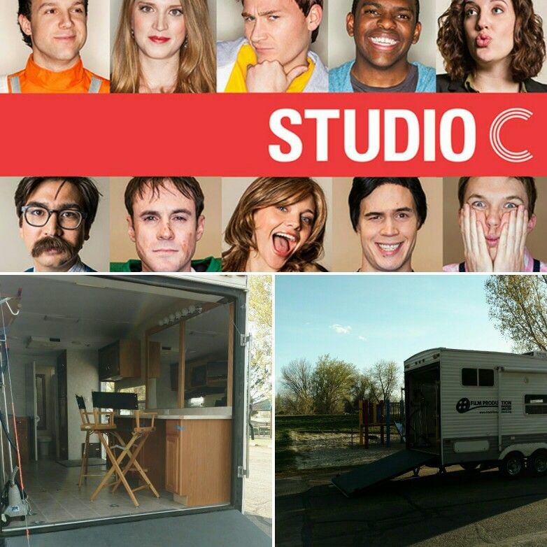 Production Trailer on set for BYUTV