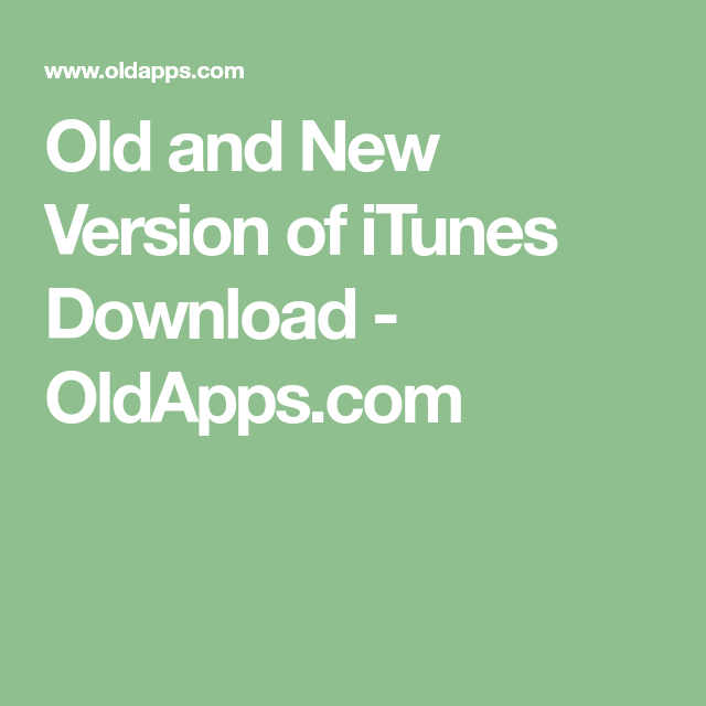 download newer version of itunes