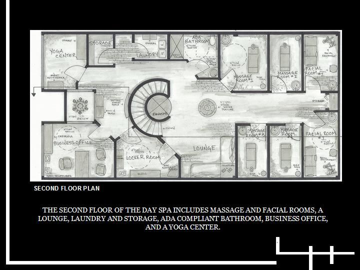 Gallery For Day Spa Floor Plan Layout Floor Plan Layout Spa Floor Plans