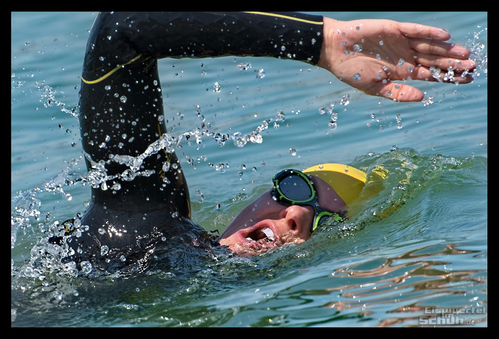 Triathlete in Training - Anchorage Daily News