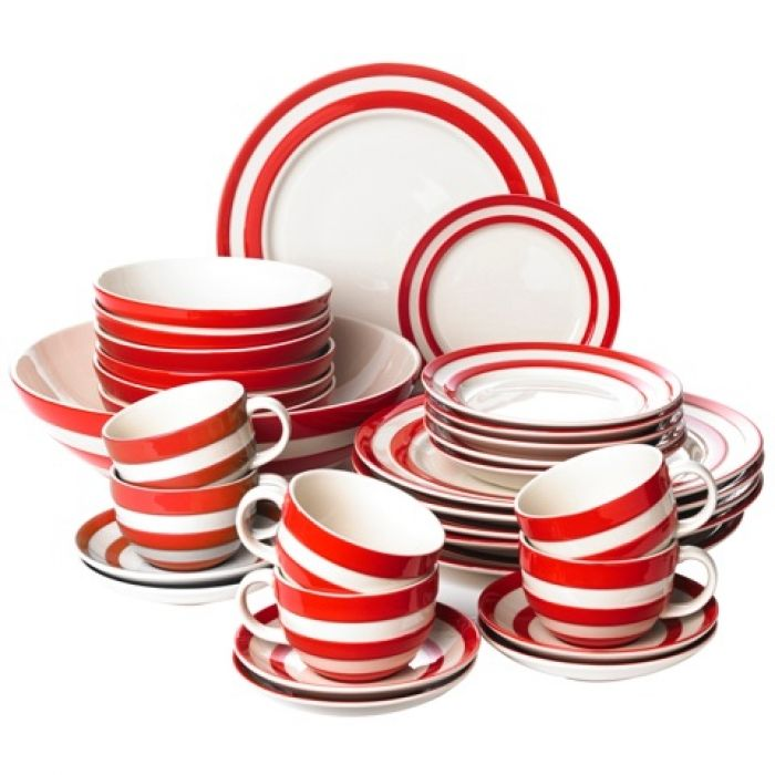 Dinner Party Set Cornishware Classic British Kitchenware By T G Green Crockery Dinner Party Cornishware