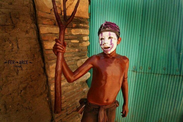 """Carnaval de San Martín Tilcajete """"máscaras, chilolos y tentaciones""""."""