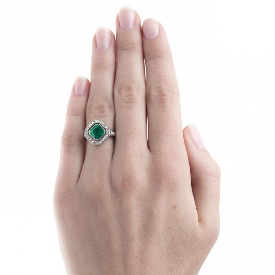 Stunning Art Deco Cartier Emerald Ring | Penngrove | 2017 Styled ...
