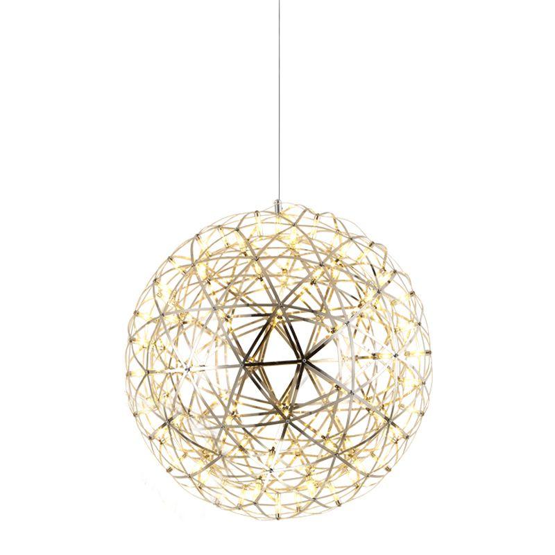 Creative Design Modern Pendant Lamp Stainless Steel Ball Pendant Light Led Firework Lamp 12v In Modern Pendant Lamps Ball Pendant Lighting Modern Pendant Light