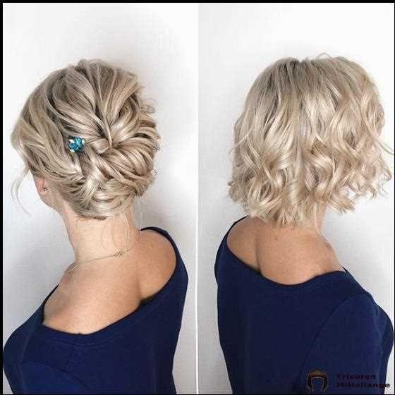 Más de 40 peinados de novia para cabello corto