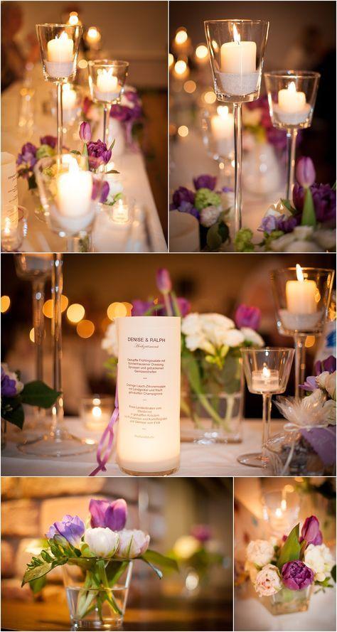 Fruhlingsdeko Mit Tulpen Hochzeit Pinterest Hochzeit Deko