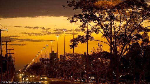 Afonso Pena Avenue - Campo Grande, Mato Grosso do Sul
