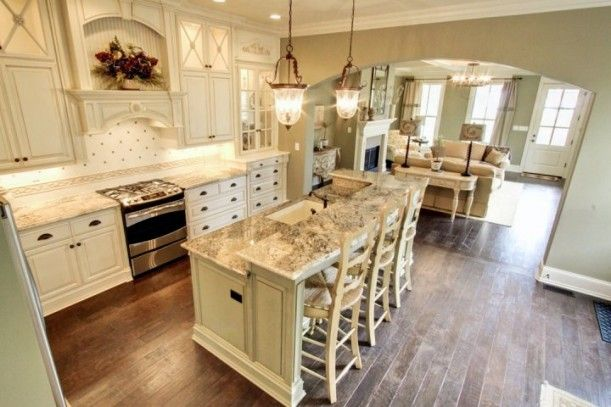 Southern style homes interior