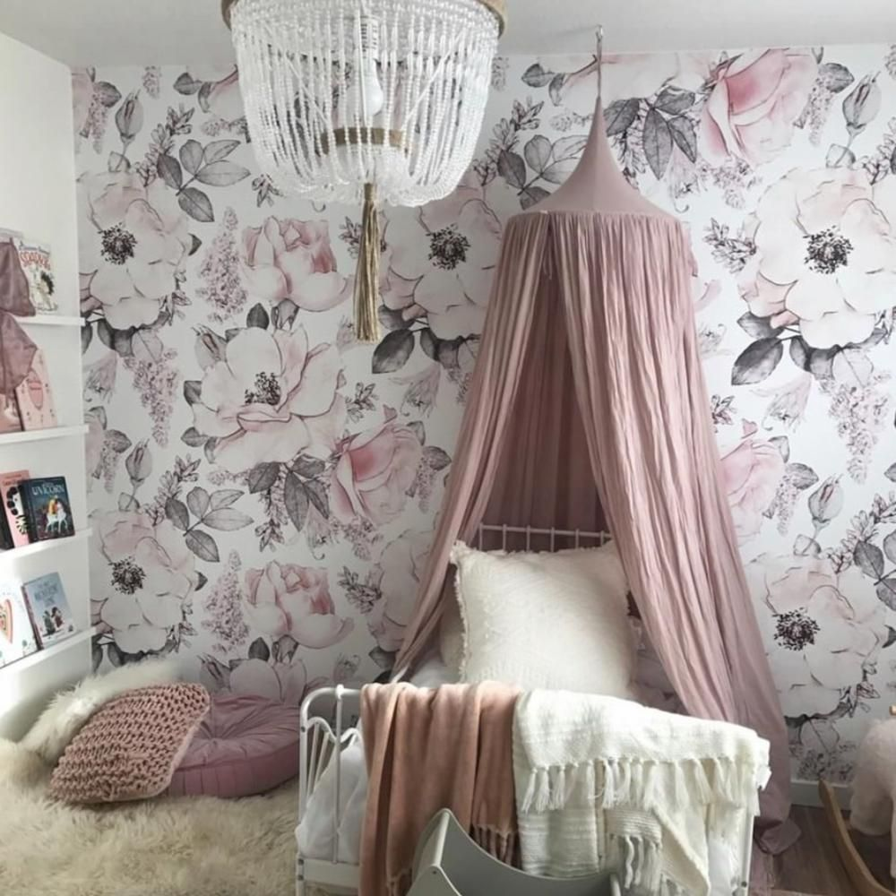 Pippa Wallpaper  Removable wallpaper, Wall decor bedroom, Fantasy