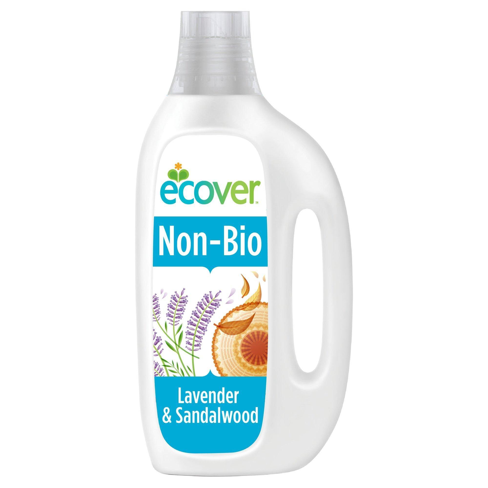 Ecover 1 5l Lavender Sandalwood Non Bio Laundry Liquid In 2020