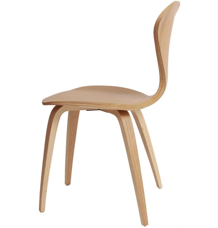 Replica Norman Cherner Side Chair By Norman Cherner   Matt Blatt
