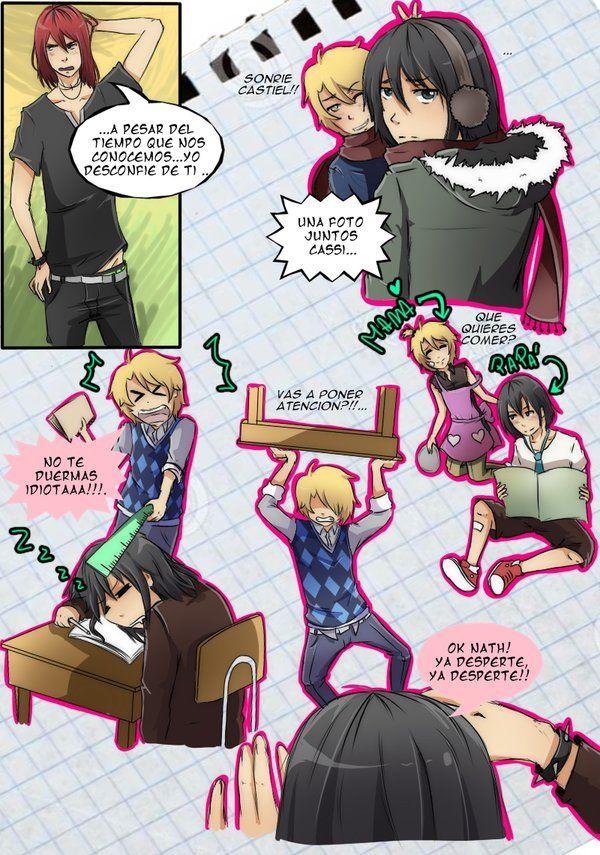 Fan Comic Castiel X Nathaniel Pag 12 By Tsukiyagami On