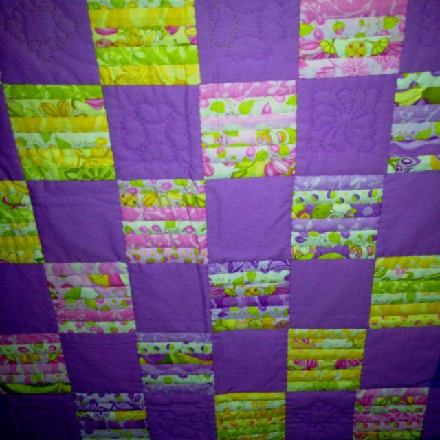 Mijn 1ste quilt!! Oktober 2010