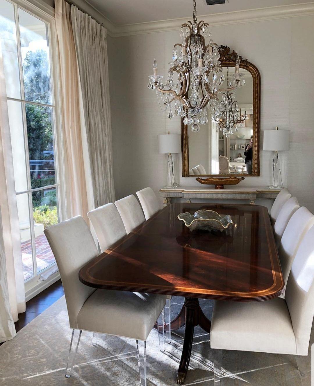 Divine Interior Design Inspo Aesthetics Chic Dining Room