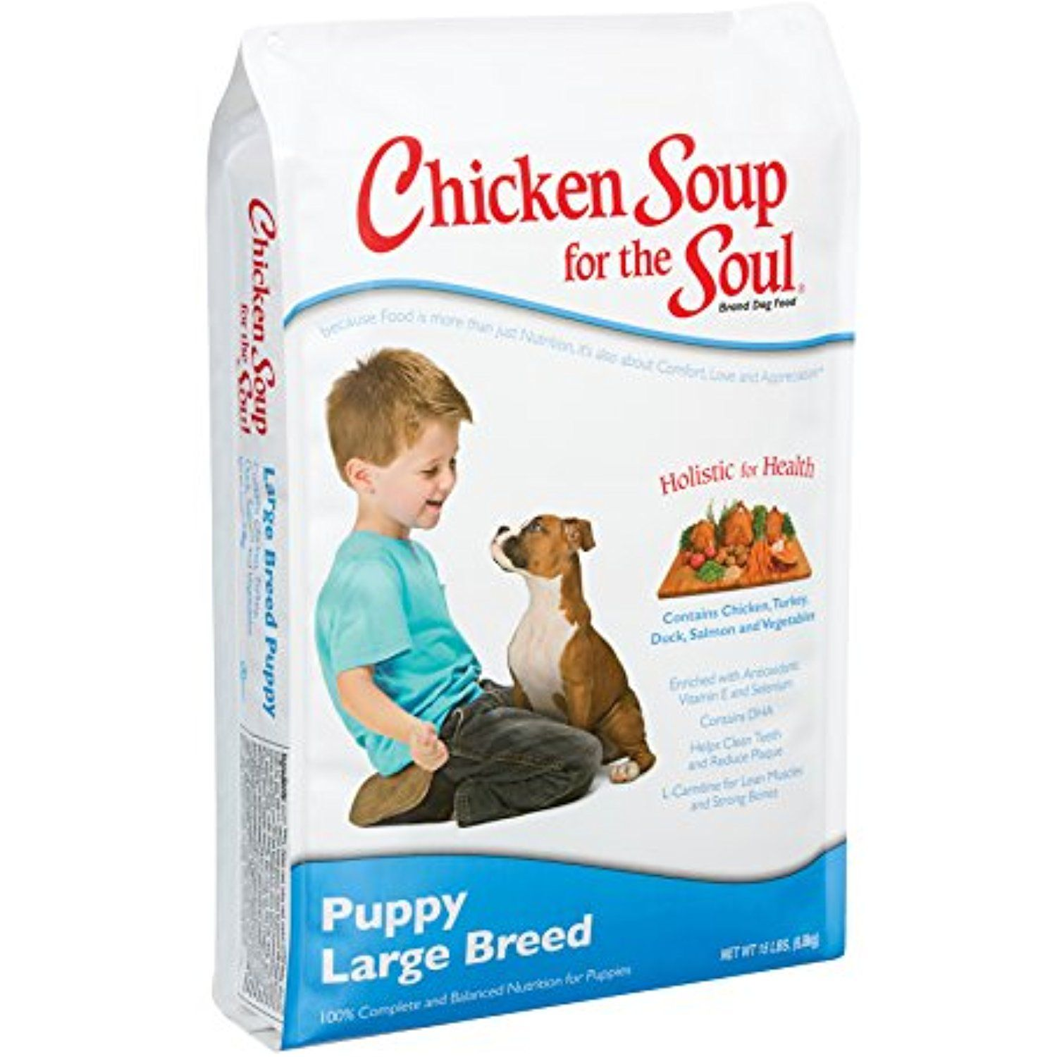 Chicken Soup for the Soul Large Breed Puppy 30lb You