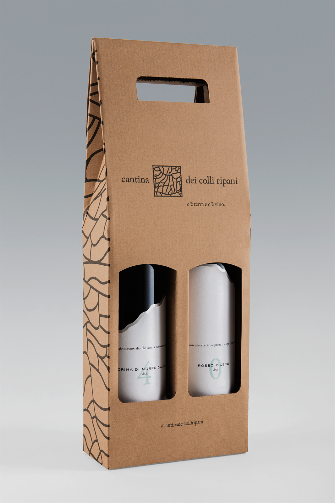 Original Cardboard Carrier For Beer Bottles With A Handle To Carry Them Easily Easy Assembly Ava Beer Packaging Design Beer Bottle Design Beer Bottle Carrier