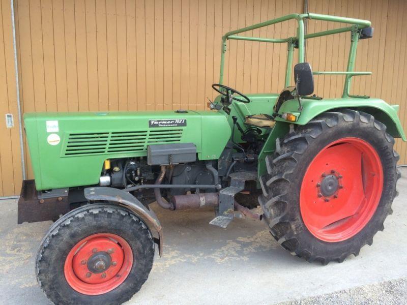 Fendt Farmer 102 S Wenig Betriebsstunden Fendt Fendt Farmer Pkw Anhanger